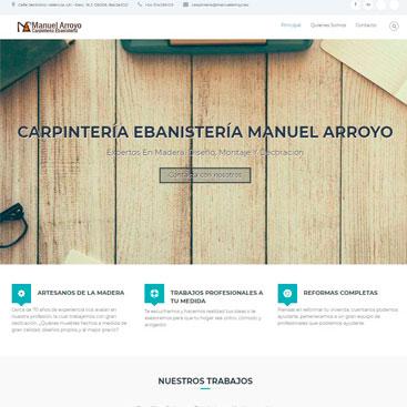trabajo carpintería Manuel Arroyo