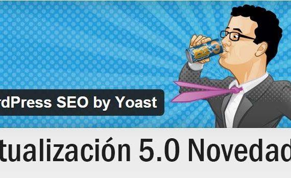 actualización de Yoast SEO