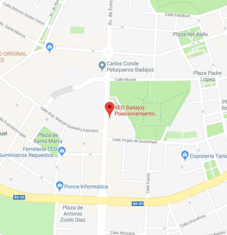 Localizacion seobadajoz